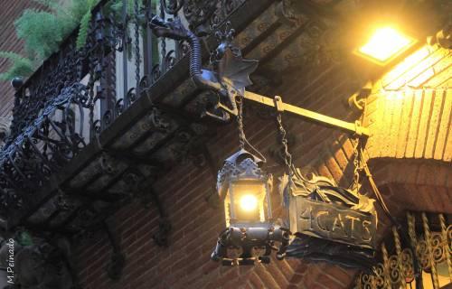Restaurante Els 4 Gats. M.Peinado  / Wikimedia Commons. CC BY 2.0