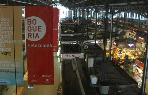 La Boqueria Market. Josep Renalias / Wikimedia Commons. CC BY-SA 3.0