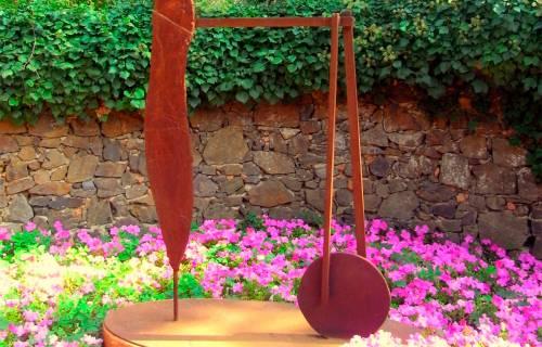 """Detall d'""""Hèlix de Ferro"""", als Jardins de Cap Roig. CC BY-SA 2.0 - Jaume Meneses / Wikimedia Commons"""