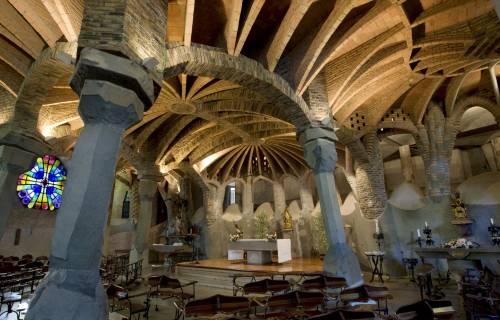 Colònia Güell Crypt. Bob Masters / DGPC