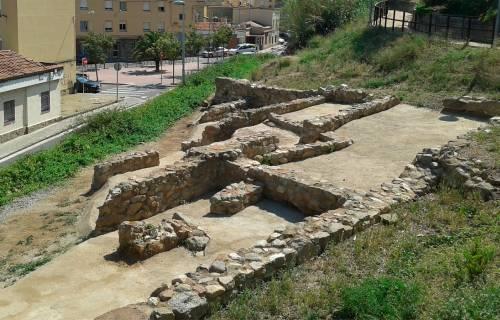 Remains of the Roman Villa of the Capuchins, in Mataró. CC By-SA 3.0 -Vàngelis Villar / Wikimedia Commons