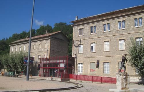 Entrada del Museu de les Mines de Cercs. CC BY-SA 3.0 - Museu de les Mines de Cercs / Wikimedia Commons
