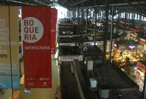 Mercado de la Boqueria. Josep Renalias / Wikimedia Commons. CC BY-SA 3.0