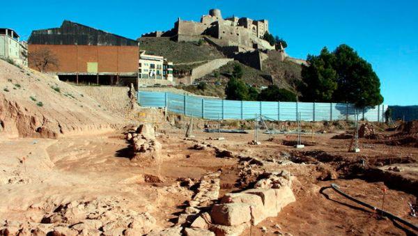 Apareixen restes d'un assentament romà a Cardona