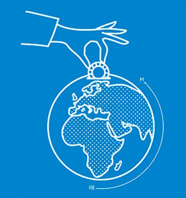 Poster de la 6a edició de la Marató d'estalvi energètic