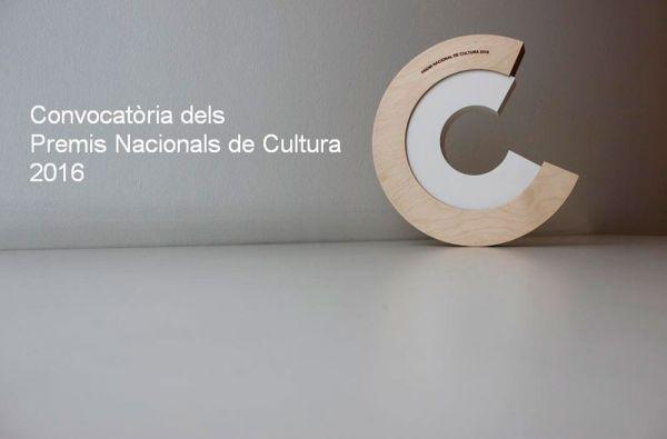Convocados los Premios Nacionales de Cultura 2016