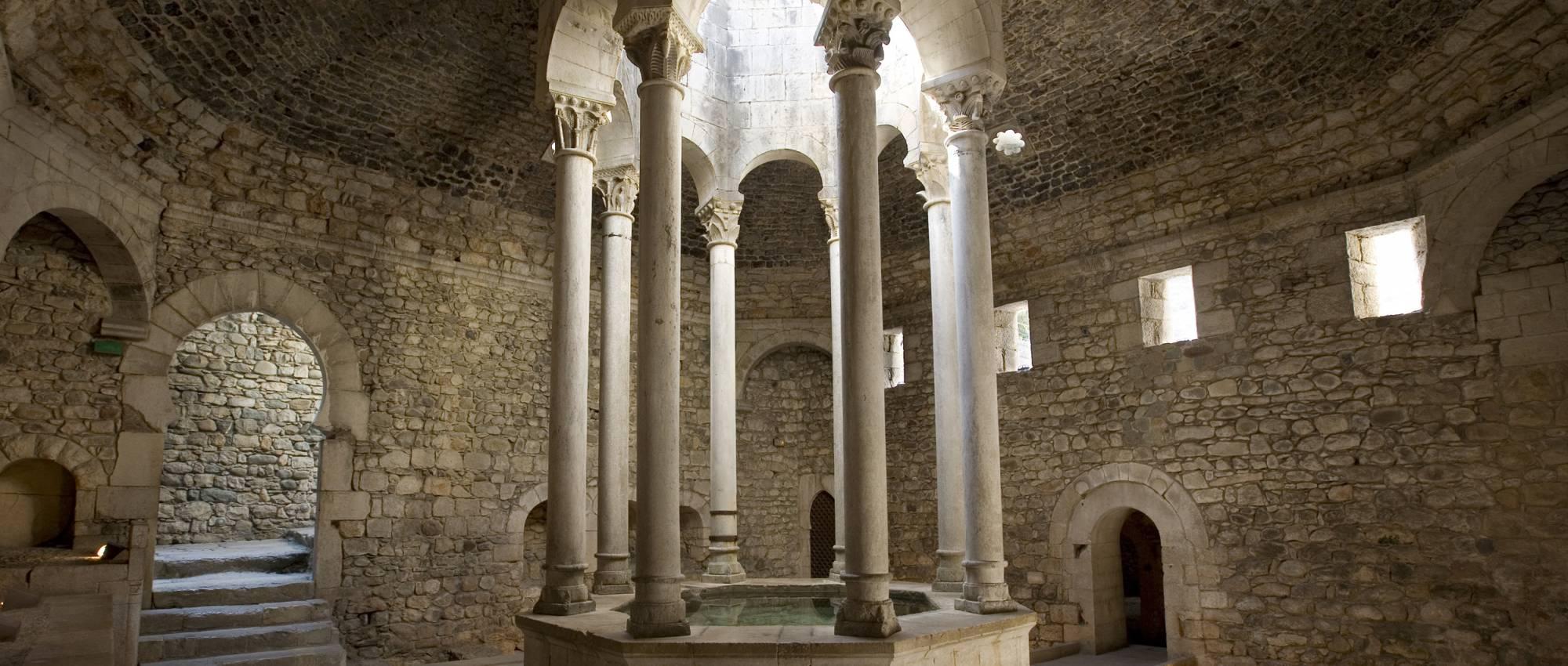 Baños Romanos Girona:Girona medieval
