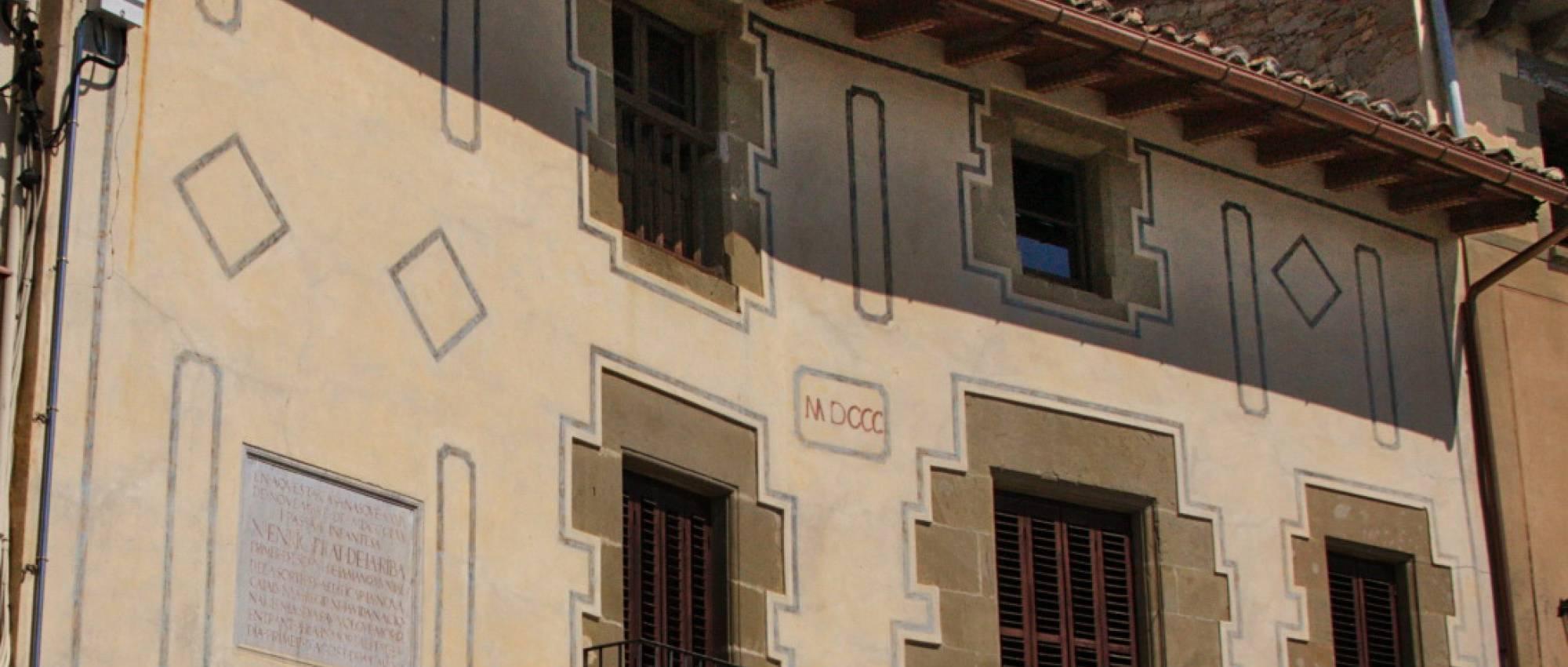 Casa Prat de la Riba. Amadalvarez / Wikimedia Commons. CC BY-SA 3.0
