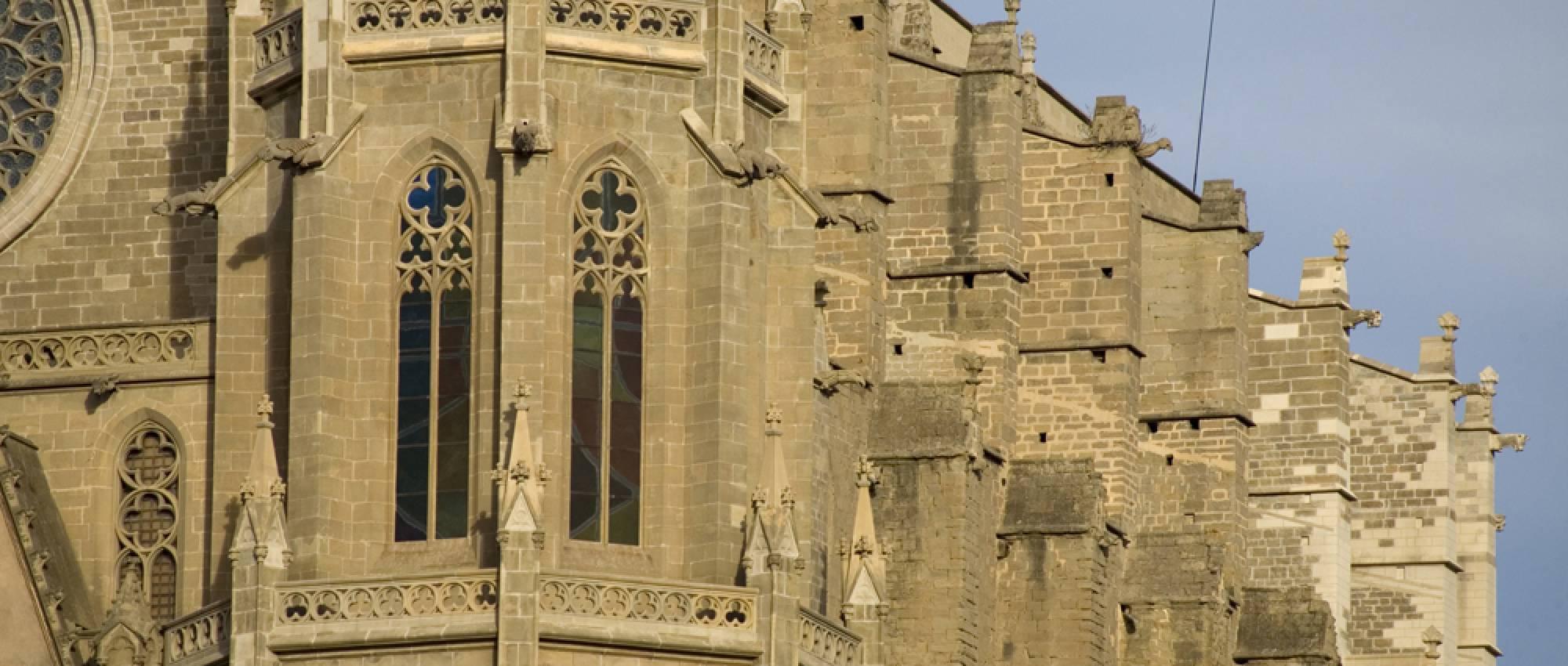 Detall de la Col·legiata Basílica de Santa Maria de Manresa. PMRMaeyaert / Wikimedia Commons. CC BY-SA 3.0 ES
