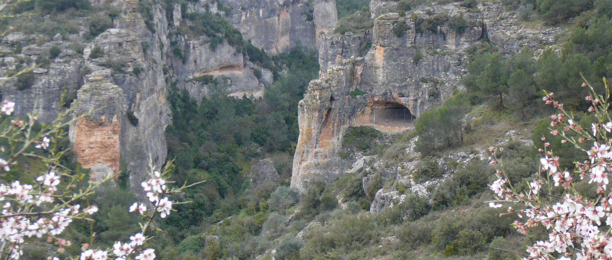 Cova dels Vilars. Servei d'arqueologia / DGPC