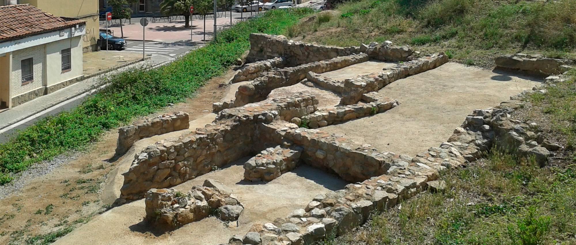 Restes de la Vil·la dels Caputxins, a Mataró. CC By-SA 3.0 -Vàngelis Villar / Wikimedia Commons