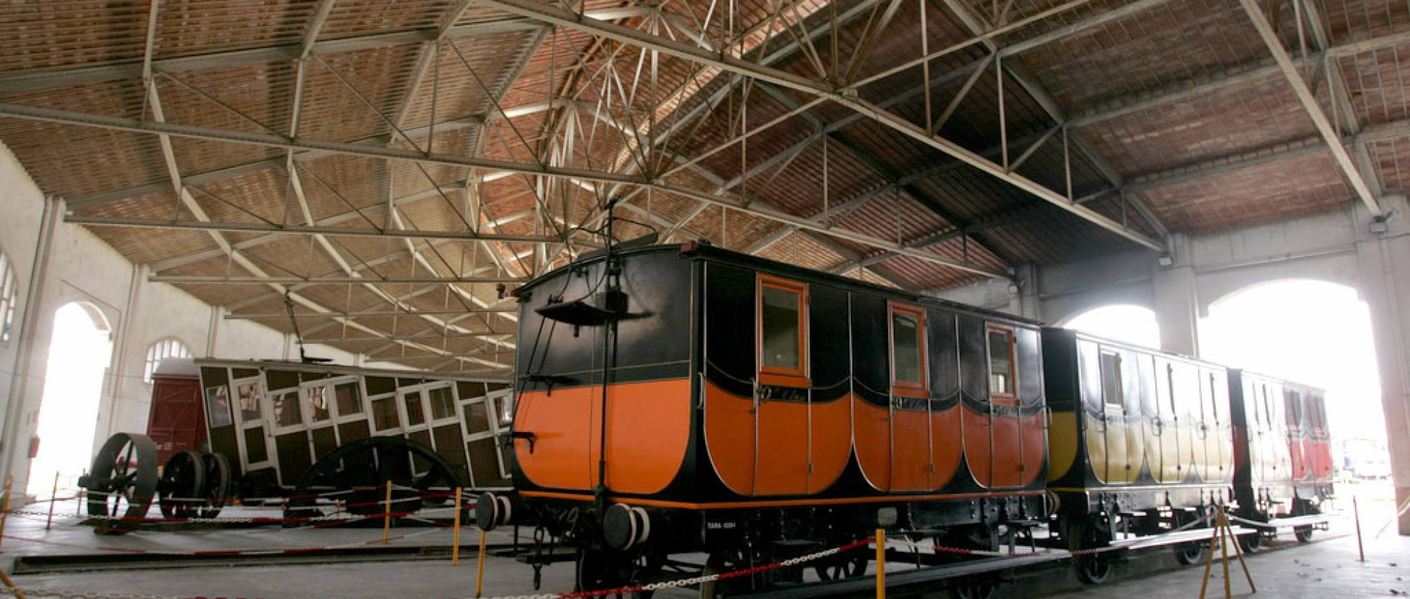 Museo del Ferrocarril de Vilanova i la Geltrú. Press Cambrabcn / Flickr. CC BY-SA 2.0