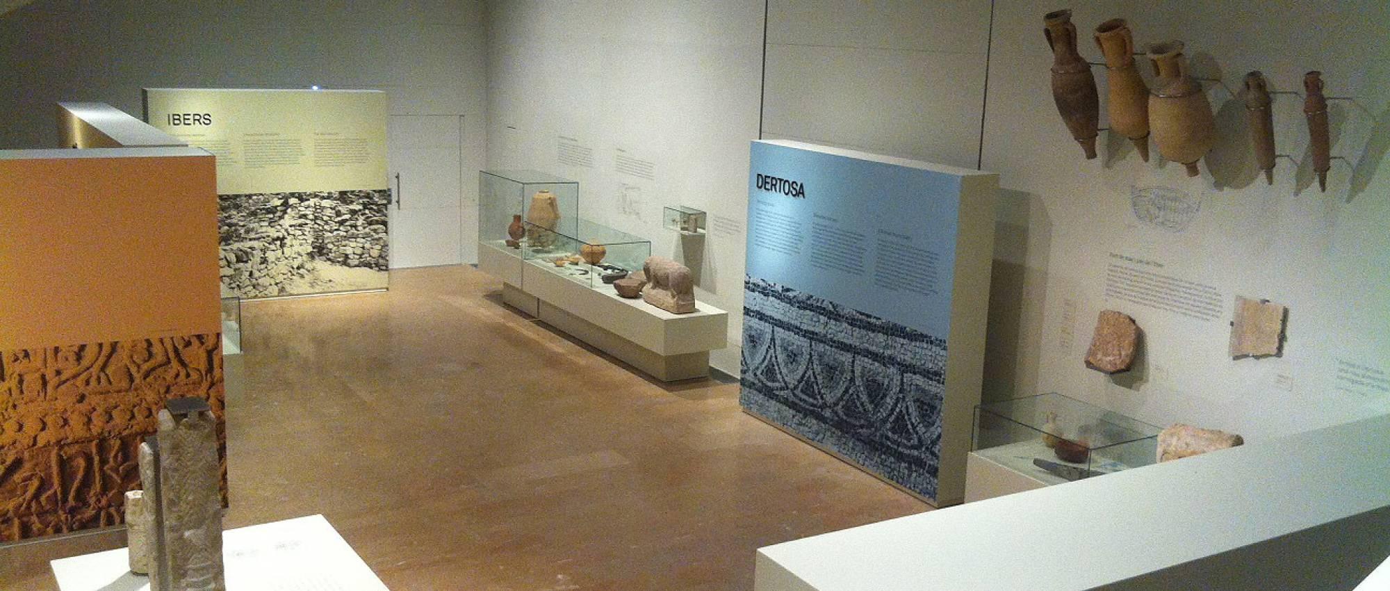 Detall de l'exposició del Museu de Tortorsa. CC BY-SA 4.0 - Kippelboy / Wikimedia Commons