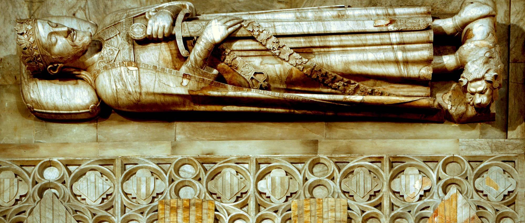 Detalles del monasterio. Josep Giribet / DGPC
