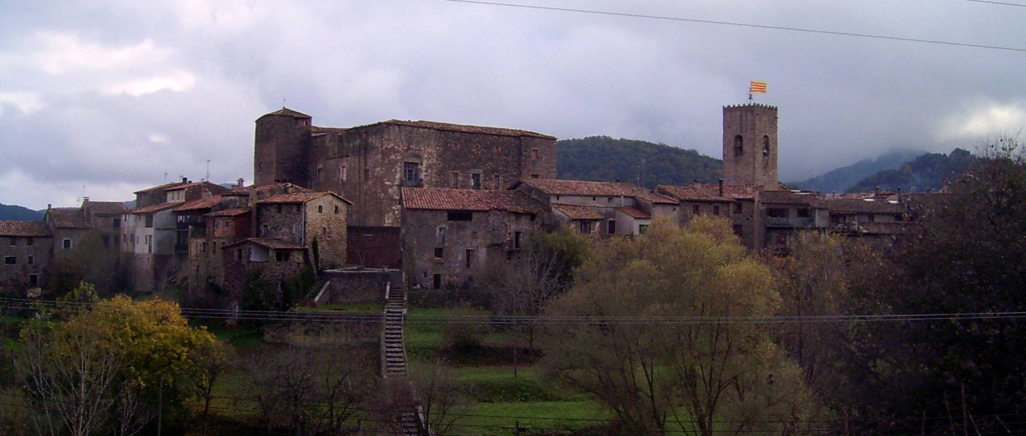 Vila medieval de Santa Pau