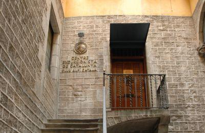 Entrada del Centre Excursionista de Catalunya. CC BY-SA 3.0 - Josep Renalias / Wikimedia Commons